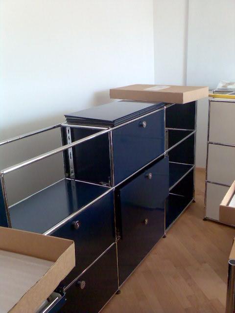 usm haller montage z. Black Bedroom Furniture Sets. Home Design Ideas